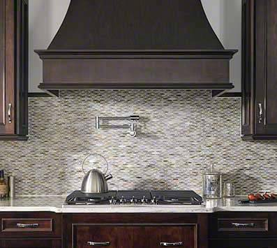 Complete Your Kitchen Design with Glass Tile Liner Bars